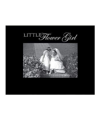 'Little Flower Girl' Photo Frame