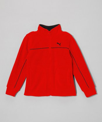 Hi-Risk Red Polar Fleece Zip-Up Jacket - Toddler & Boys