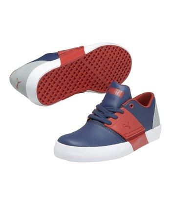 Dark Denim El Ace 3 Junior Sneaker