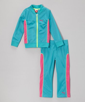 Bluebird Zip-Up Jacket & Track Pants - Infant & Girls