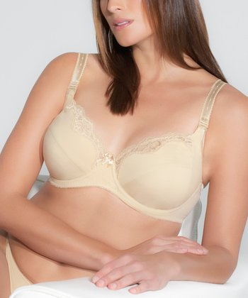 Nude Florence Underwire Nursing Bra - Women & Plus