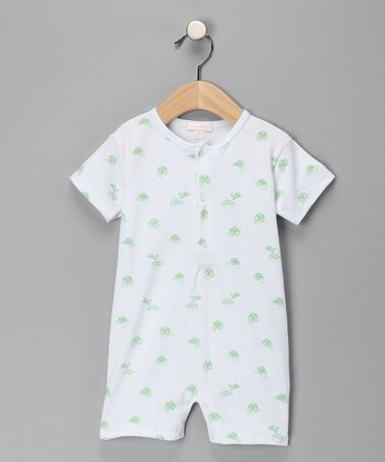 Kissy Kissy Frog Romper - Infant