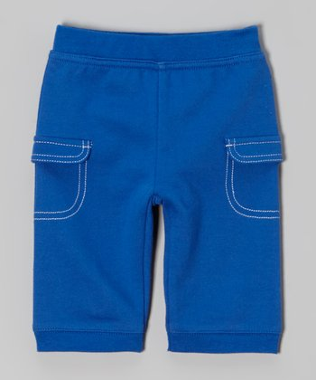 Blue Cargo Pants - Infant