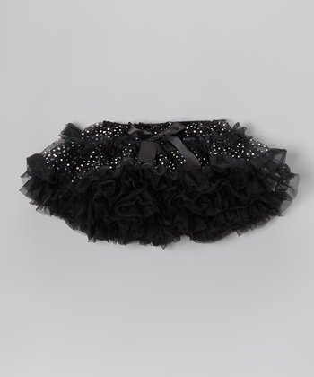 Black Sequin Bow Tutu - Infant, Toddler & Girls