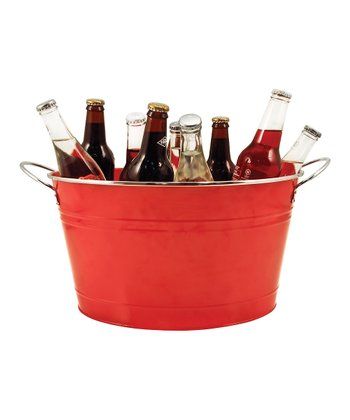 Red Country Home Galvanized Tub