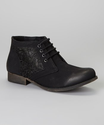 Black Prima Ankle Boot