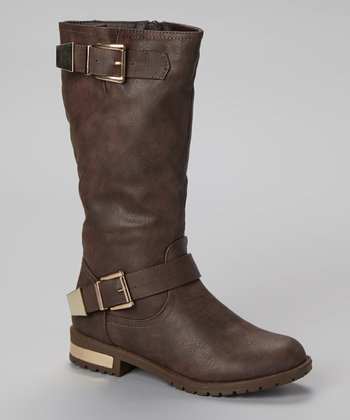 Brown Norman Boot