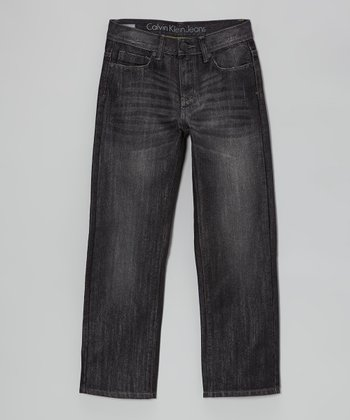 Darkness Rebel Slim Straight-Leg Jeans - Boys