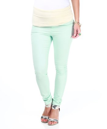 Mint Maternity Skinny Pants