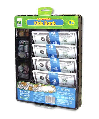 Kids Bank Play Money Set