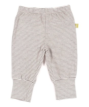 Charcoal Stripe Felix Organic Pants - Infant