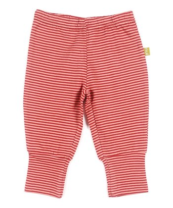 Rose Stripe Felix Organic Pants - Infant