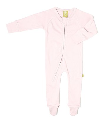 Rose Organic Zip-Up Footie - Infant
