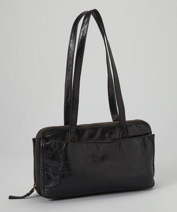Latico Leather Black Gillian Laptop Bag