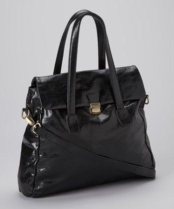 Latico Leather Black Lia Tote