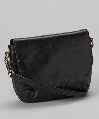 Latico Leather Black Paxton Clutch