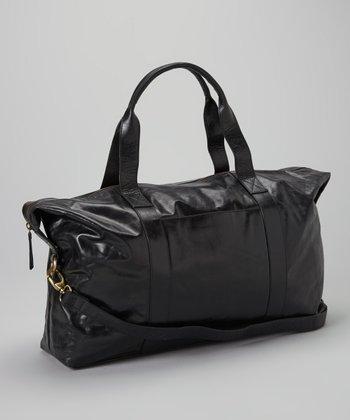 Latico Leather Black Malibu Satchel