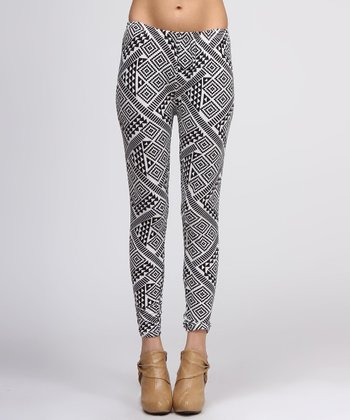 Black Mod Leggings