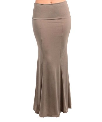 Mocha Fishtail Skirt - Women