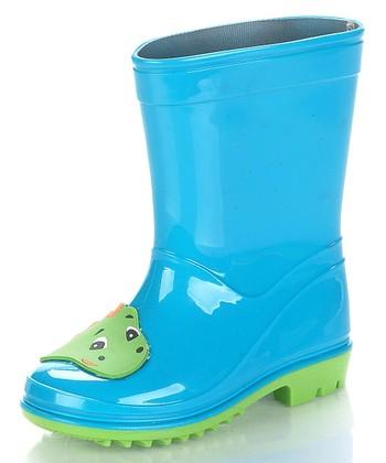 Aqua Blue Dinoya Rain Boot