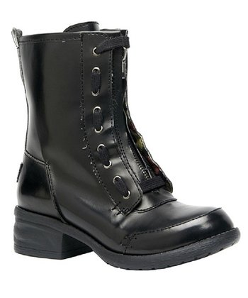 Black Patent Deuce Boot