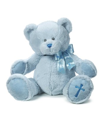 Blue Blessings Teddy Plush Toy