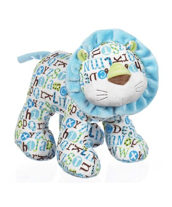 GANZ Blue Pitter Pattern Giraffe Plush Toy