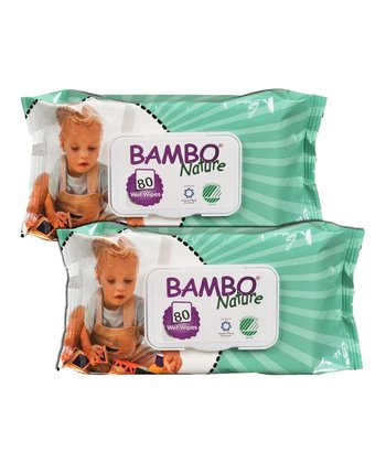 Abena Gentle 80-Pack Cleansing Wipe - Set of Two
