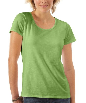 Green Cedella Tee - Women