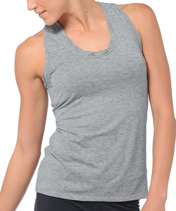 Gray Swifty Racer Tank