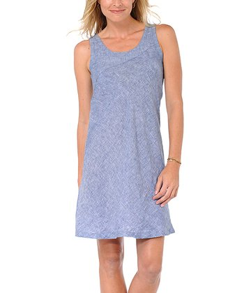Lavender Linen Sheath Dress