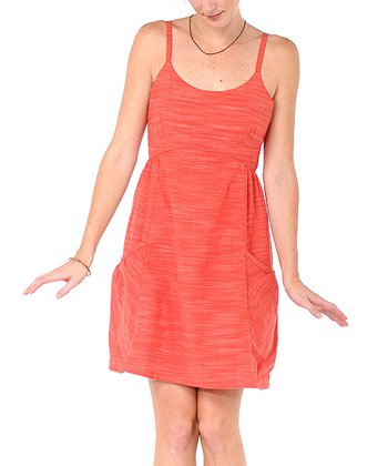 Orange Dizzie Organic Dress