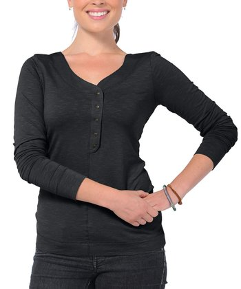 Black Sonja Henley - Women