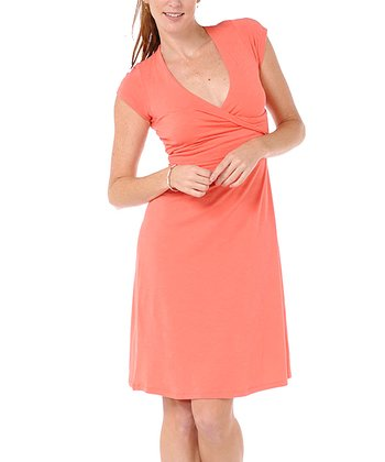Pink Empirical Dress - Women