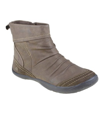 Stone Bonanza Vintage Leather Ankle Boot
