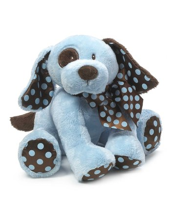 Blue & Brown Chocolate Drops Puppy Plush Toy