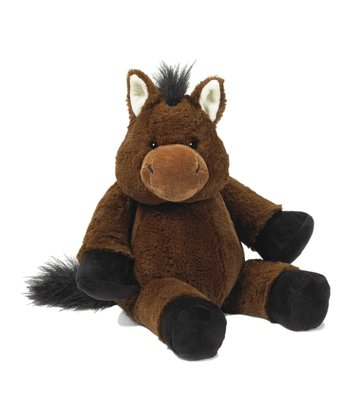 Brown Cuddledoos Horse Plush Toy