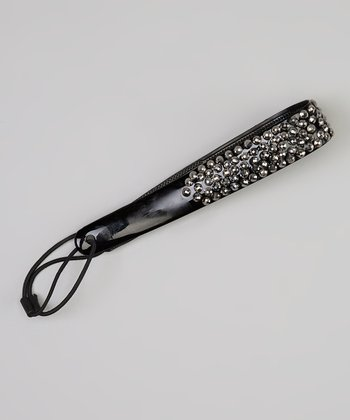 Black Stud Jelly Headband