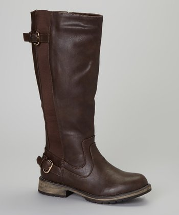 Dark Brown April Boot