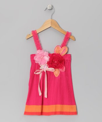 Fuchsia Flower Fifi Dress - Infant, Toddler & Girls