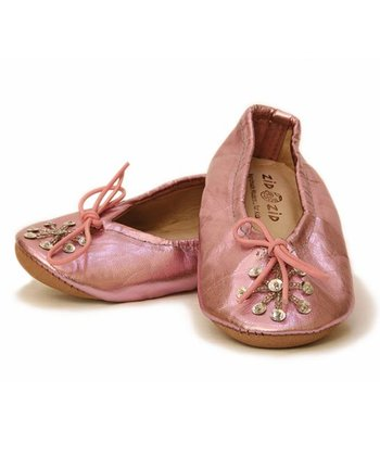 Zid Zid Kids - Metallic Pink Girls' Babush