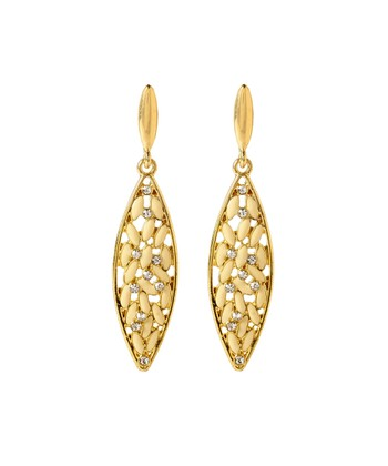 Ivory & Gold St. Clara Earrings