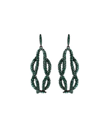 Emerald Sonali Earrings