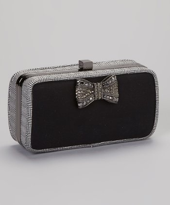 Black Lila Clutch
