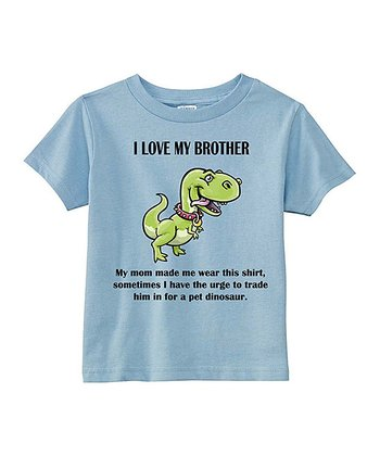 Light Blue 'I Love My Brother' Tee - Toddler & Boys