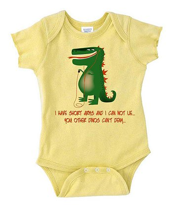 Lemon 'I Have Short Arms' Bodysuit - Infant