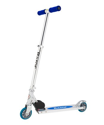 Blue A Scooter