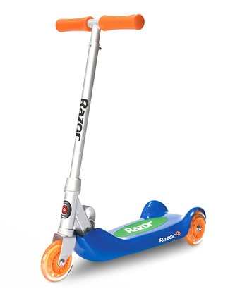Blue Folding Kiddie Kick Scooter