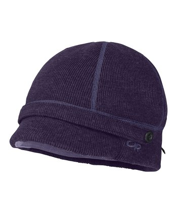 Blackberry Flurry Wool-Blend Cap - Women