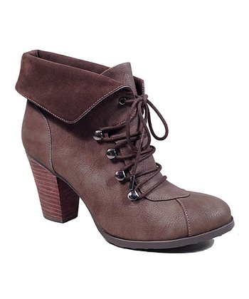 Brown Gallant Bootie